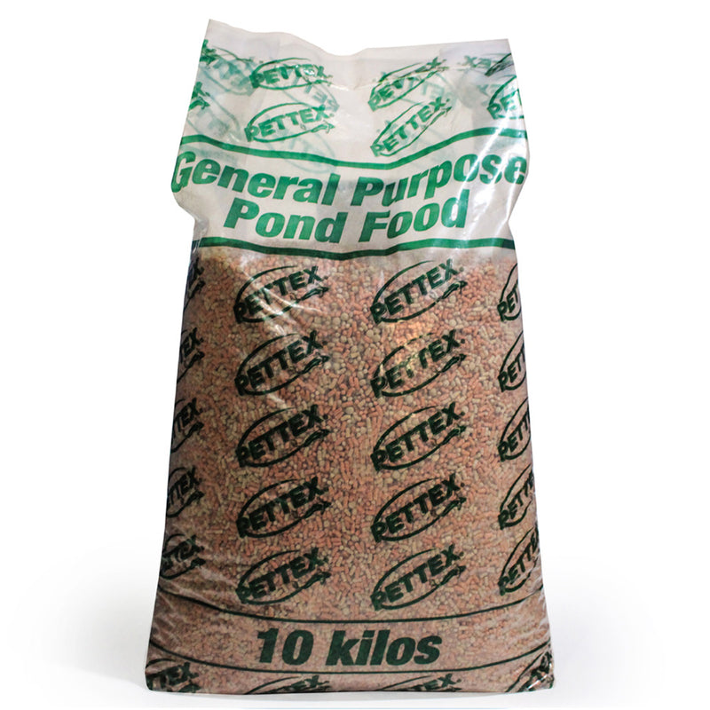 10kg bag of Pettex General Pond Sticks