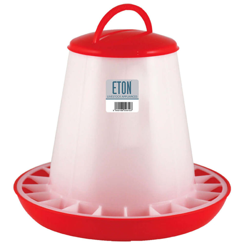 Eton Plastic Poultry Feeder With Handle