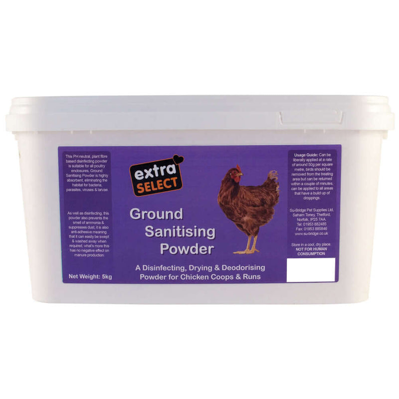 Extra Select Ground Sanitising Powder