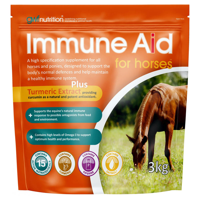 GWF Nutrition Immune Aid For Horses Pouch