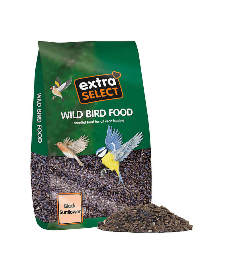 12.75kg bag of Extra Select Black Sunflower Seed