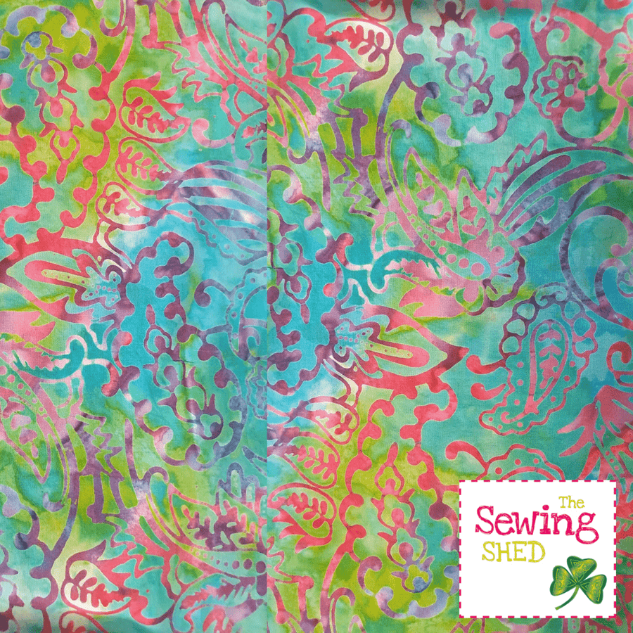 Beautiful Batik fabric Multi