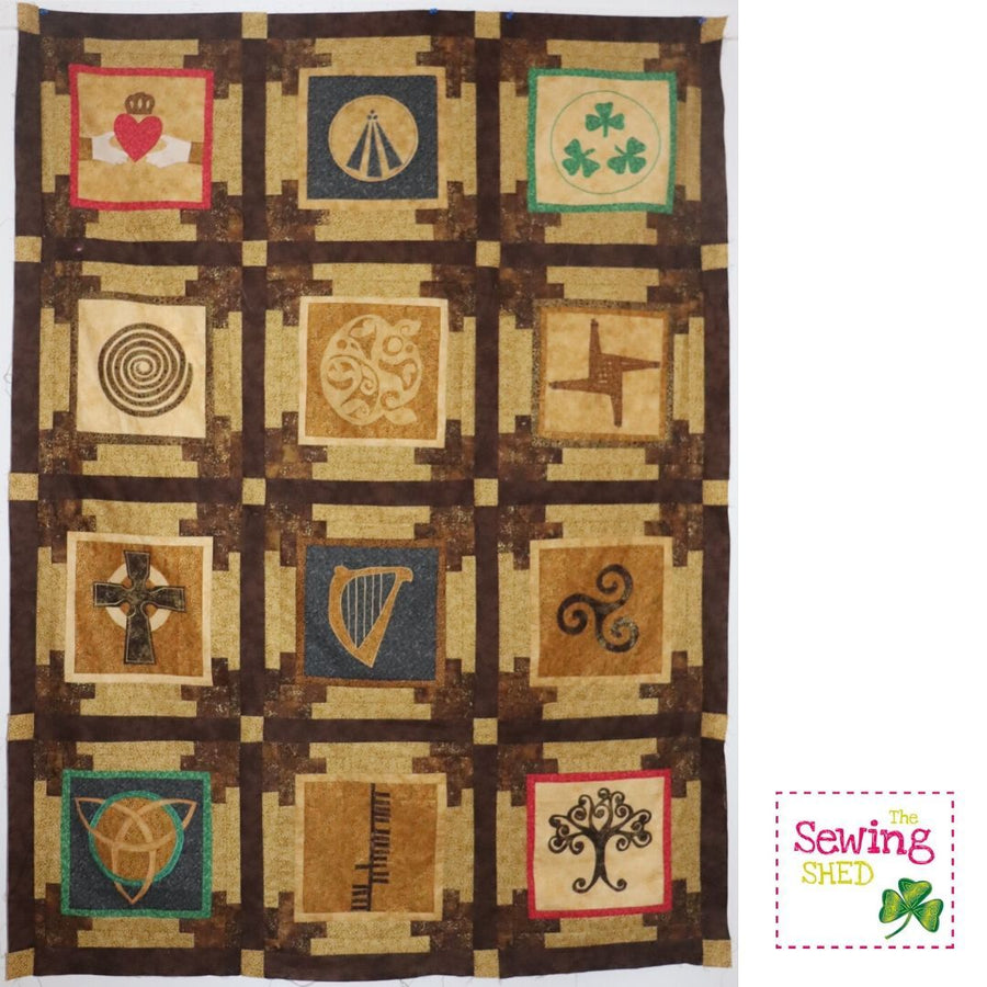 Our Ancient Celtic Symbols - Block of the month (Online class)