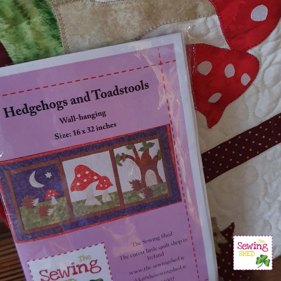 Hedgehogs and Toadstools Kit