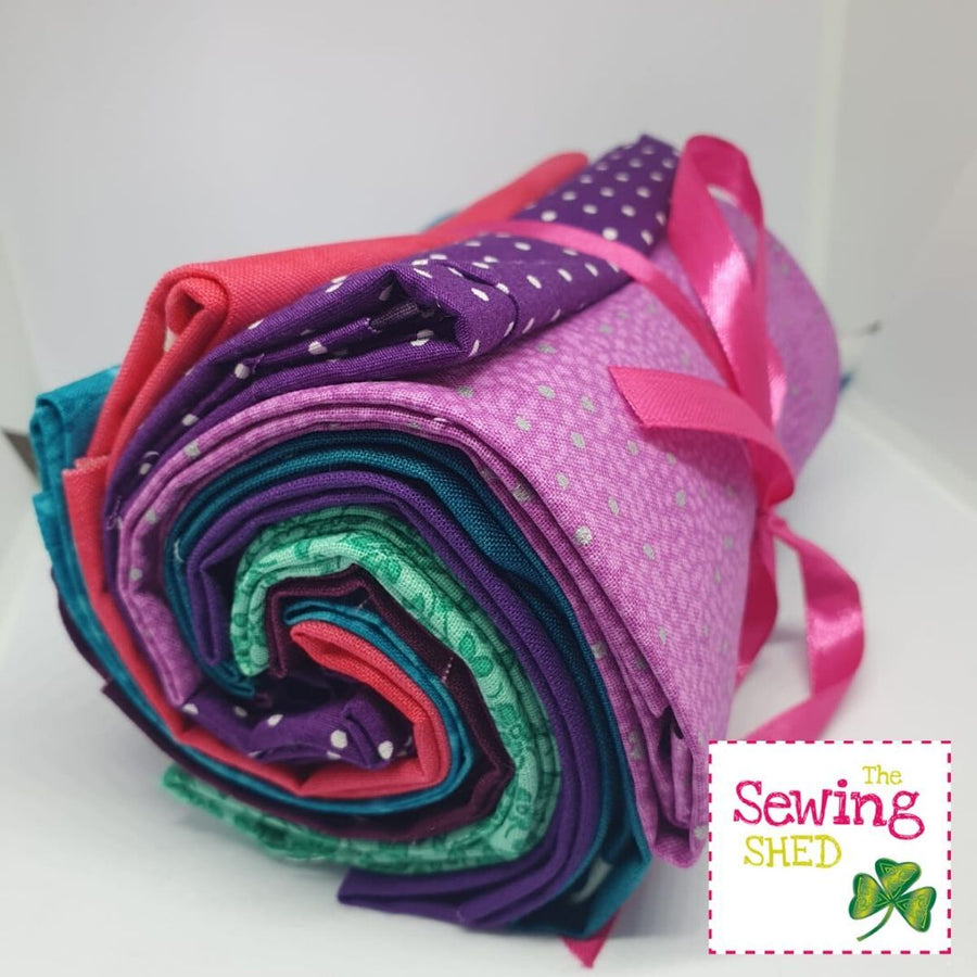 Fabric Bundles- Jewel Tones