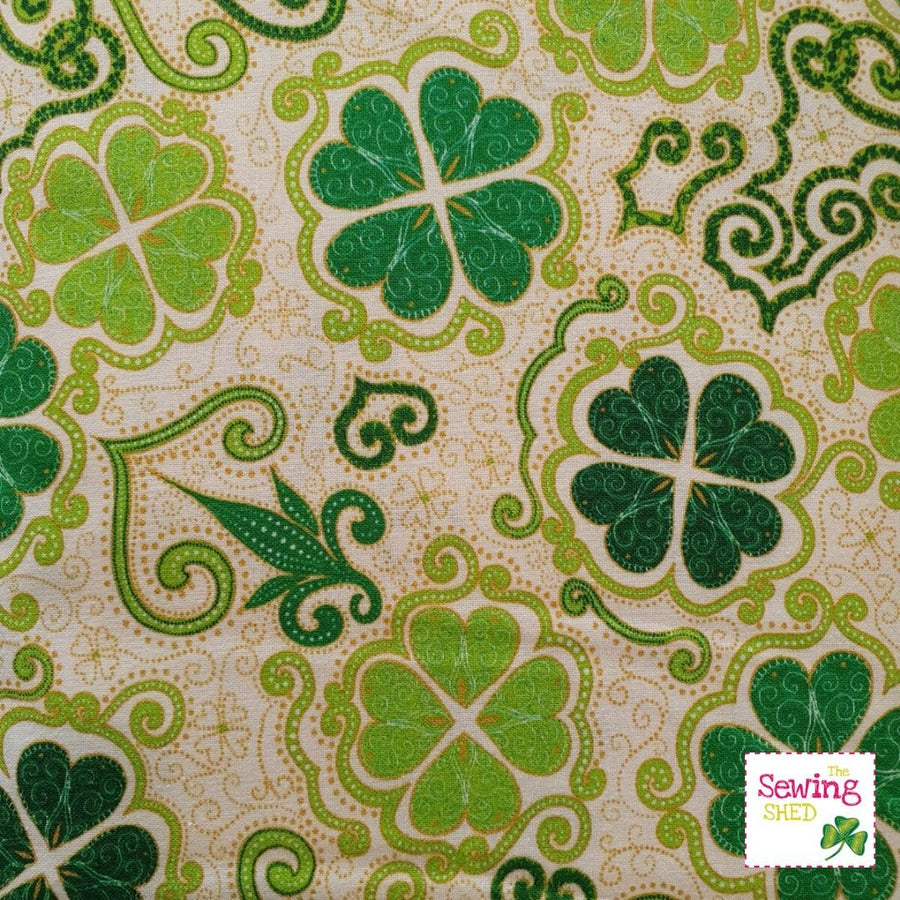 Lucky Charms- The Irish Flower White