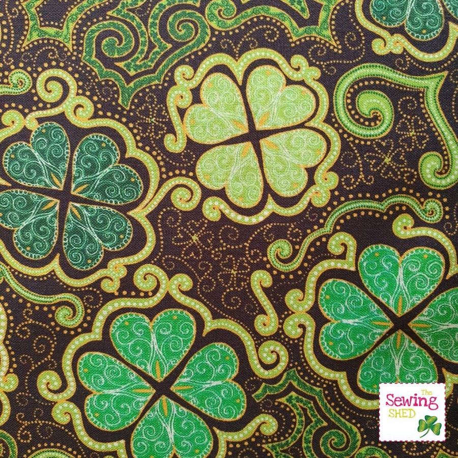 Lucky Charms- The Irish Flower Brown