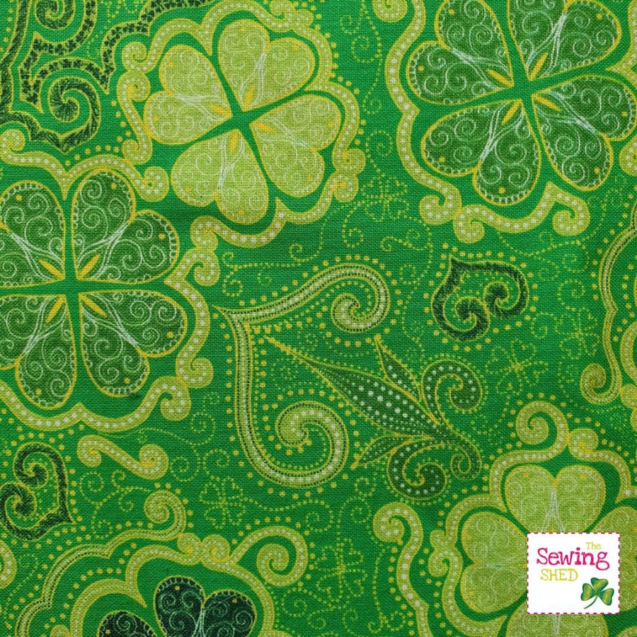 Lucky Charms- The Irish Flower Green