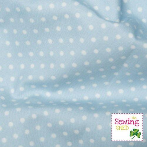 Polka Dot Fabric- Powder