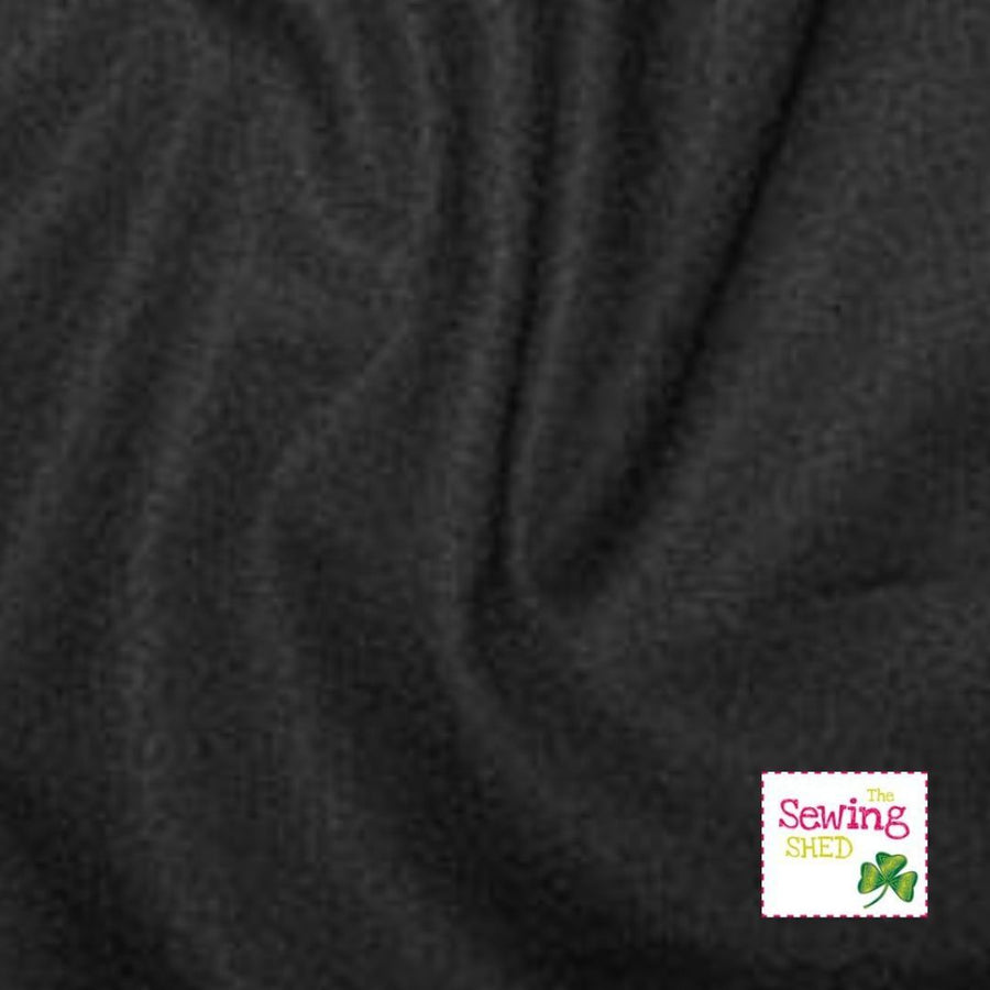 Plain Fabric- Black