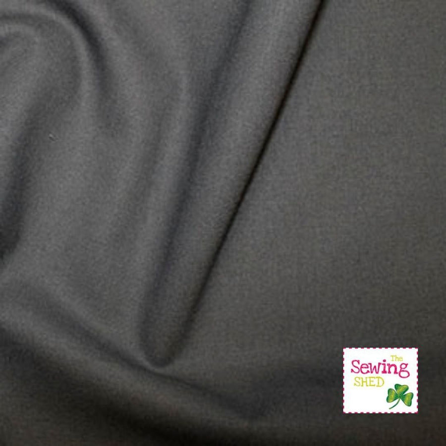 Plain Fabric- Dark Grey