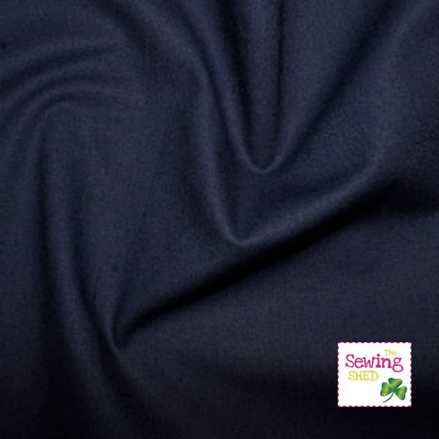 Plain Fabric- Navy