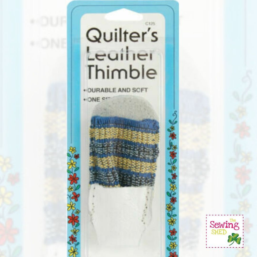 Quilter's Leather Thimble
