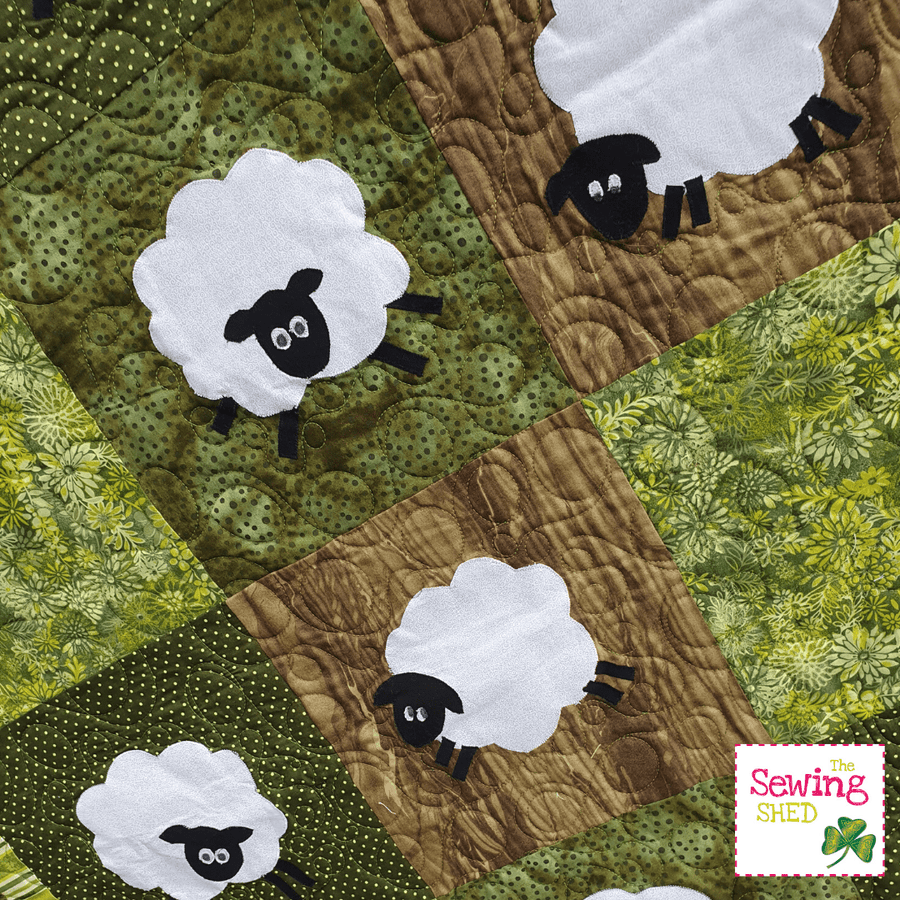 Wooly and Wally Quilt Kit