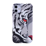 Coque iPhone SE Tigre Blanc
