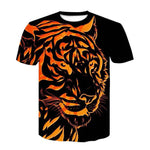 T-shirt Tigre Orange