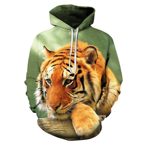 Sweat Tigre Courageux