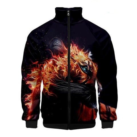 Veste Tigre Indomptable