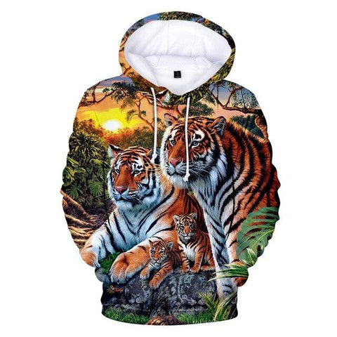 Sweat Tigre Jungle