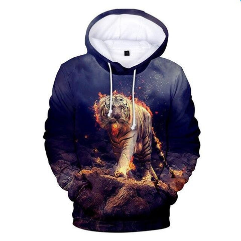 Sweat Tigre Combattant