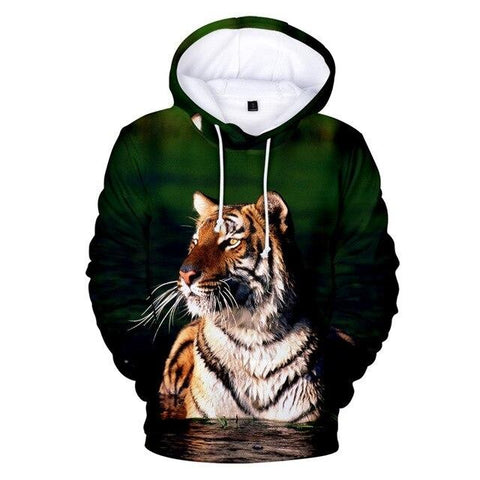 Sweat Tigre Imprévisible