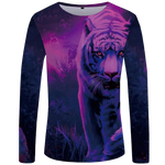 T-Shirt Tigre Chasse Nocturne