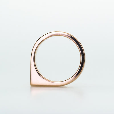 Aberdeen Ring 4mm Width in 14K Rose Gold