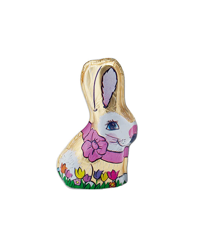 MADELAINE FOILED HOLLOW 2 OZ RABBIT