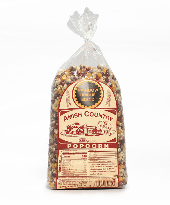 Amish Country Rainbow Popcorn 32oz