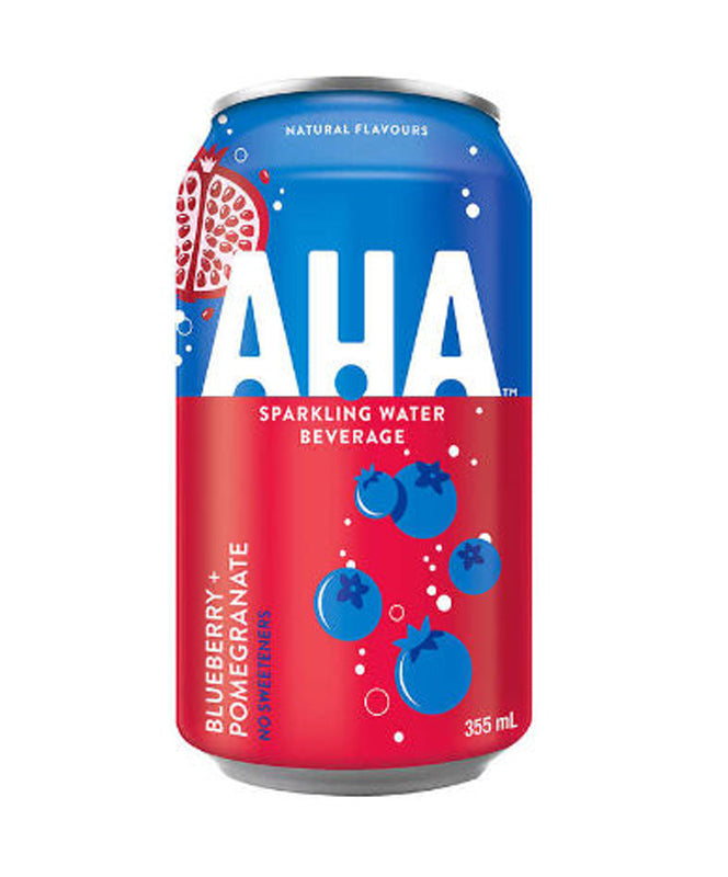 AHA Blueberry Pomegranate Sparkling Water