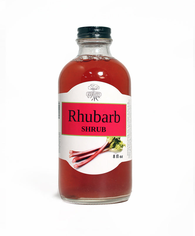 FINGER LAKES HARVEST SHRUB RHUBARB 8oz