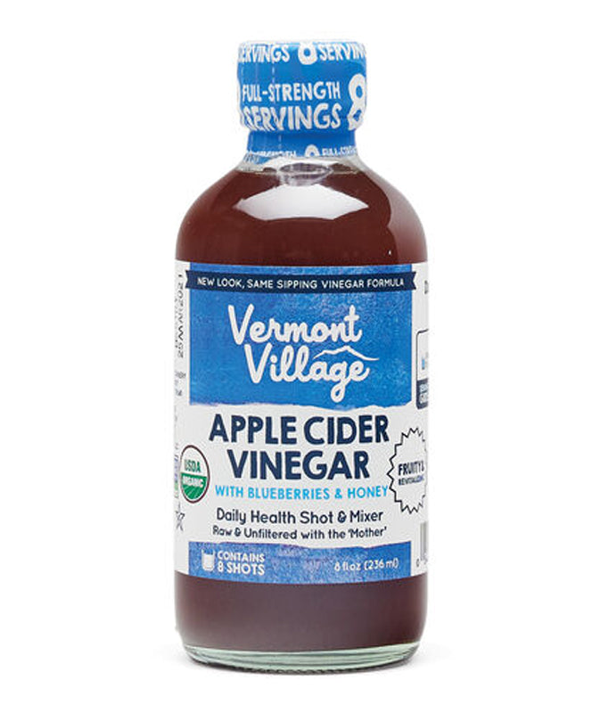 Vermont Village Blueberry Apple Cider Vinegar 8 oz.