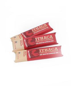 Ithaca Coffee Company Red Rooster Espresso Dark Chocolate Bar