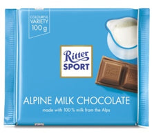 Load image into Gallery viewer, RITTER ALPINE MILK CHOCOLATE