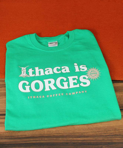 Ithaca Coffee Company Short Sleeve Ithaca's Gorges T-Shirt