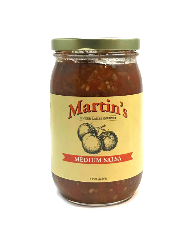 MARTINS NICELY MEDIUM TOMATO SALSA 1 Pt.