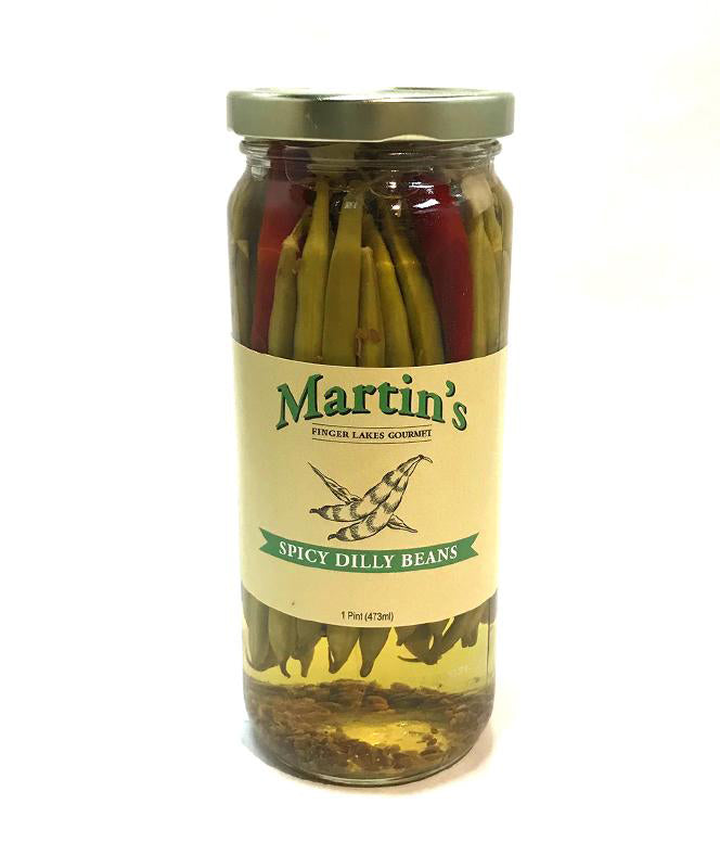 MARTIN'S SPICY DILLY BEANS 1PT