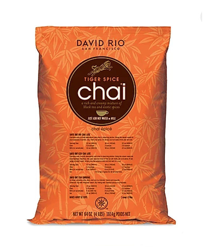 SINGLE PACKET OF DAVID RIO TIGER SPICE CHAI