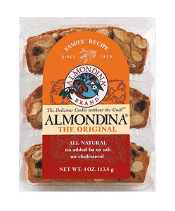 ALMONDINA ORIGINAL ALMOND BISCUITS 4 OZ.