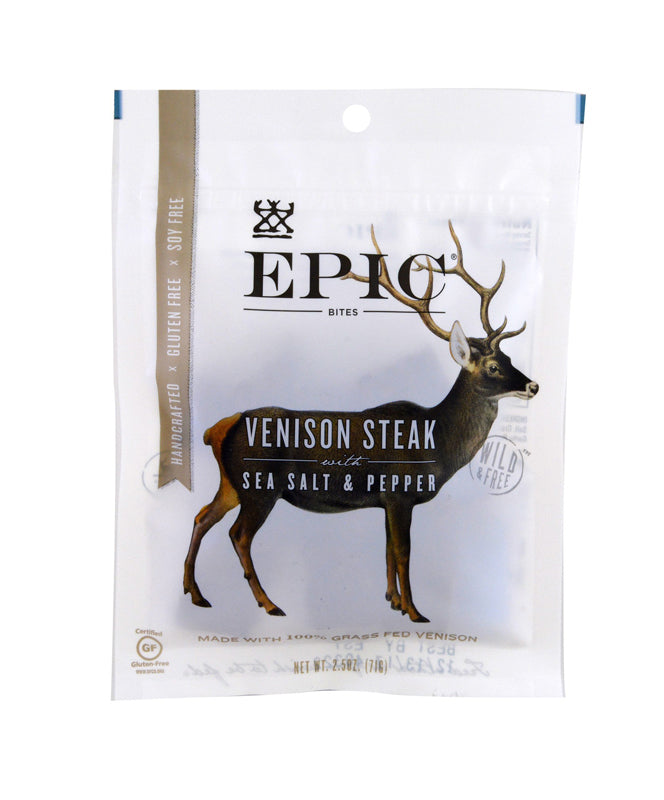 EPIC Venison Steak Bites 2.5OZ