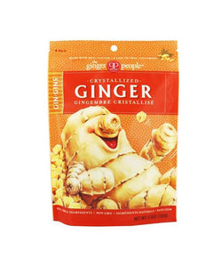CRYSTALLIZED GINGER 3.5OZ THE GINGER PEOPLE