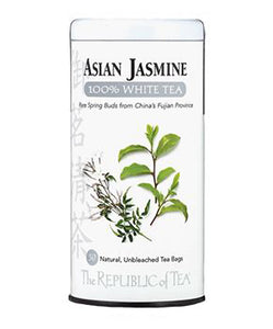 REPUBLIC OF TEA WHTE JASMINE TIN