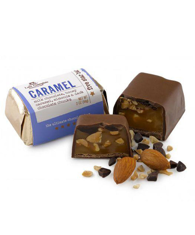 Lake Champlain Caramel Five Star Bar 2 oz.