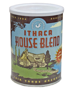 Ithaca House Blend 100% Organic 12oz can
