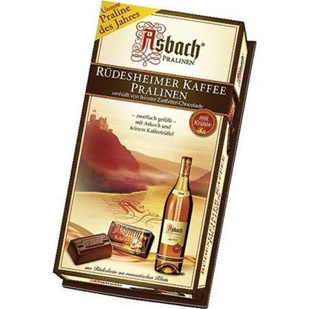 Asbach Brandy Pralines with Coffee 4.4OZ BOX