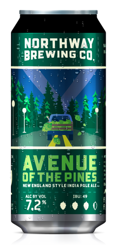 NORTHWAY AVENUE OF THE PINES 16OZ CAN