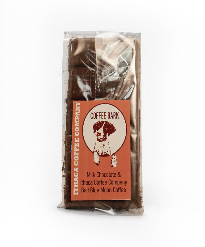 Sinfully Sweet Milk Chocolate Coffee Bark  2 OZ.