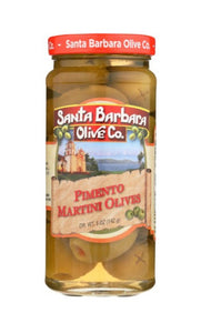 Santa Barbara Olive Co. Pimento Martini Olives 5oz