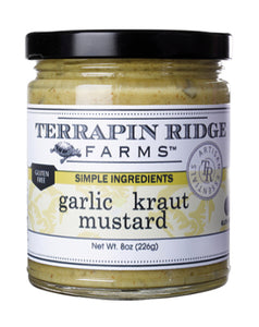 Terrapin Ridge Farms Garlic Kraut Mustard 8.5 oz.