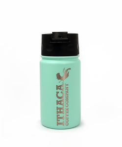 Ithaca Coffee Company Cool Mint 12 oz Cafe Bottle with Flip Top